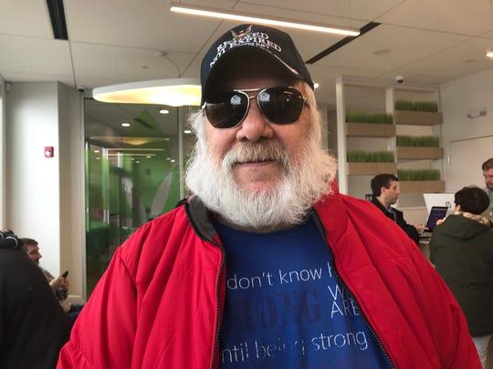 Garry Croney of Newburgh, NY says medical marijuana has helped with his chronic pain and neuropathy.