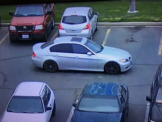 The Sparks Police Department released a surveillance