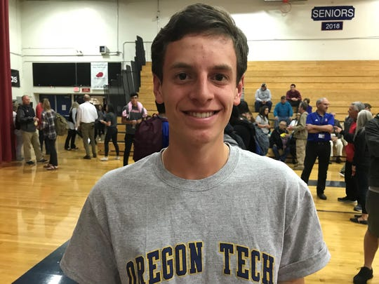 Nick McMillen will run cross country and track at Oregon