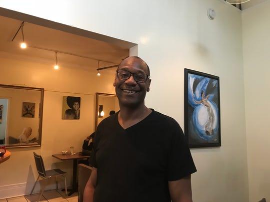 Norman Brown of Arnett Cafe.