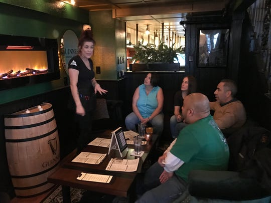 The new Guinness Lounge at Blackthorn allows patrons to dine and drink in comfort.