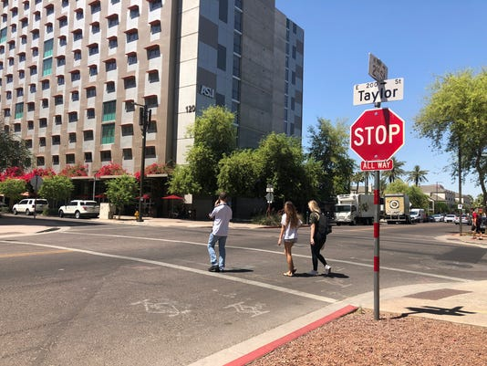 ASU Taylor and Second streets