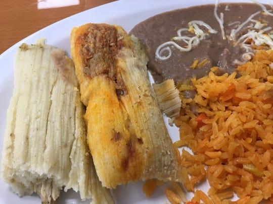 Tamales at Emilio's.