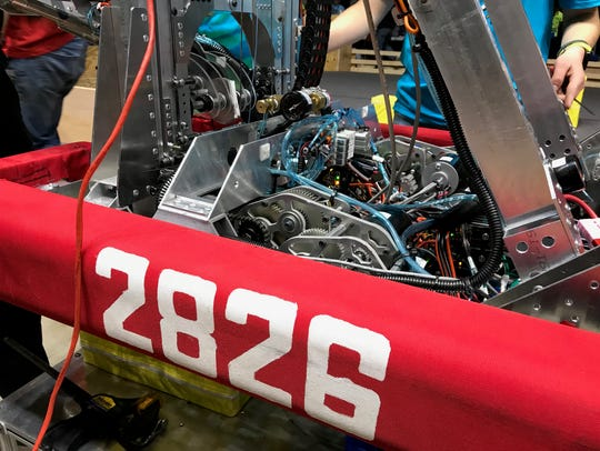 2826 is painted onto the team's bumpers.