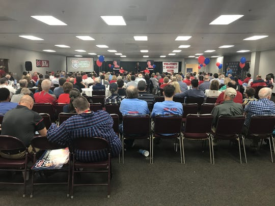 Corinth was the final stop for the Rebel Road Trip