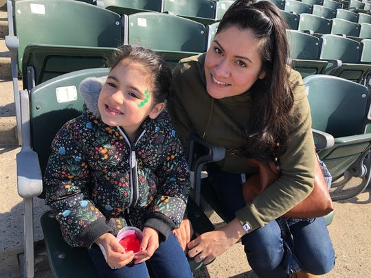 "Penelope Oswald, age 5, of Somerville enjoyed the slime activities at Healthy Kids Day most of all. Her mother, Patty, appreciates after care and daycare at Somerville YMCA for both of her daughters. Patty shared that the Y offers a sense of community and it ""means a lot to us."""