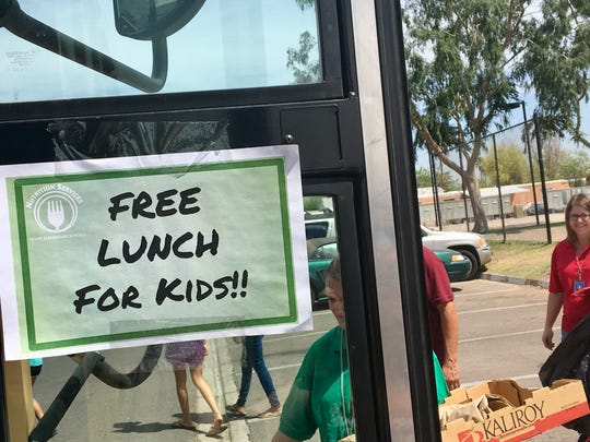 There is such a thing as a free lunch - if you're a kid in the Tempe Elementary School District during the teacher walkout that closed more than 1,000 public schools.