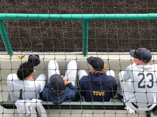 Soaking up the baseball history Friday are Schoolcraft
