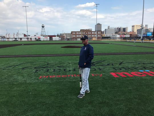 It's a 'field of dreams' moment for Schoolcraft assistant