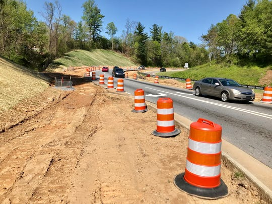 The N.C. DOT is adding lanes at the I-40 eastbound