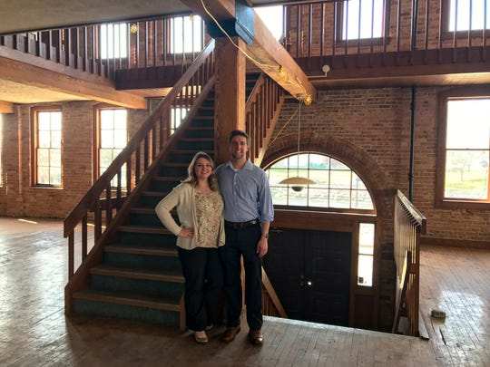 Caitlynn and Cody Newman, of Restore (269) will be investing about $1.2 million into the 15 Carlyle St. property they bought.
