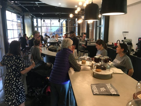 Prevail Union opened its new coffeehouse Friday inside Dexter Avenue's Kress building.