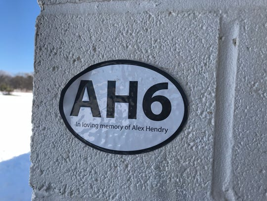 AH6 In loving memory of Alex Hendry No. 6 on Hilton