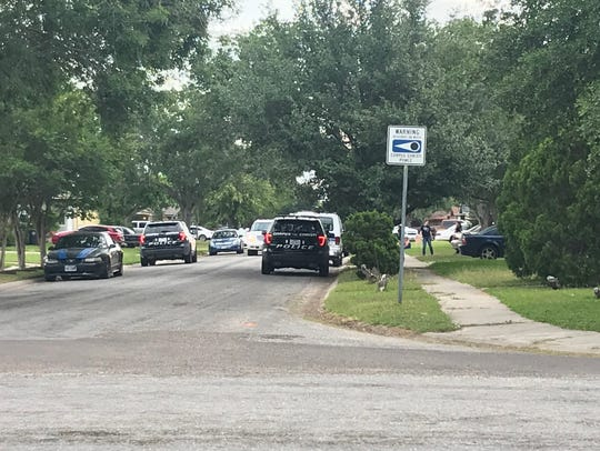 Corpus Christi police investigate a fatal shooting