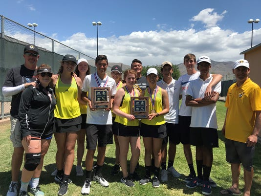 2018 Alamogordo Tennis Team