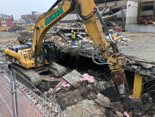 CityPlace Burlington - Demolition Photo