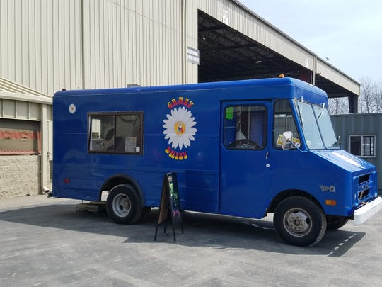If your place of employment would like the Crazy Daisy truck to stop by for a lunch shift, send a Facebook message or call 812-598-2049.