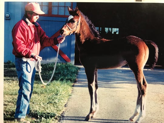 Medaglia d'Oro, then owned by Al and Joyce Bell of