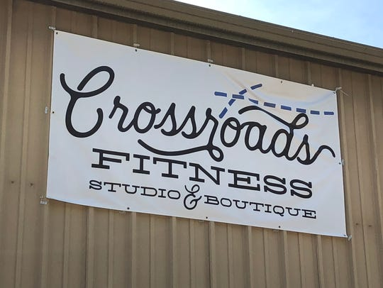 Crossroads Fitness Studio and Boutique is at 1514 W.