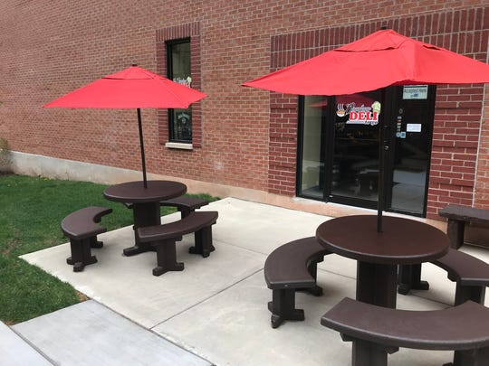 Outdoor seating at Downtown Deli to Go will expand to seat 50 people this summer.