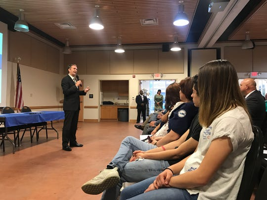 Gov. Ralph Northam discusses the opioid epidemic with