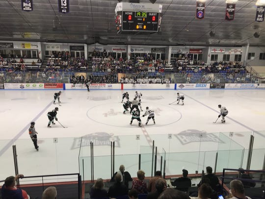 The Shreveport Mudbugs and Lone Star Brahmas  play at the NYTEX Sports Centre in North Richland Hills, Texas, on Friday and Saturday.
