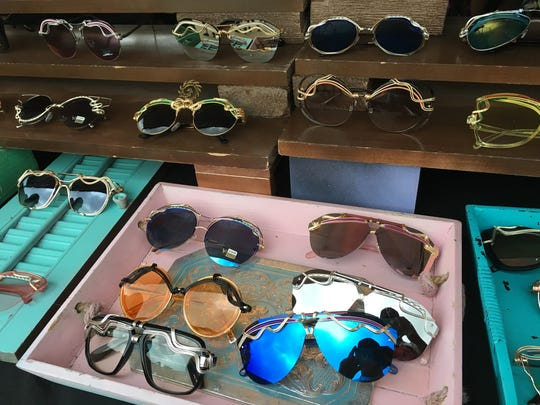 Custom made sunglasses by Spunglasses at the Beale Street Music Festival