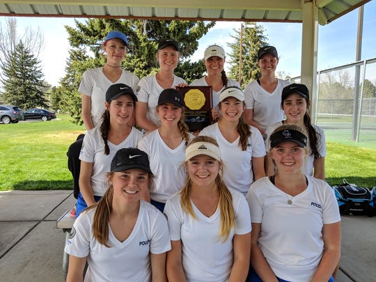 The Poudre girls tennis team won a regional title on Saturday.