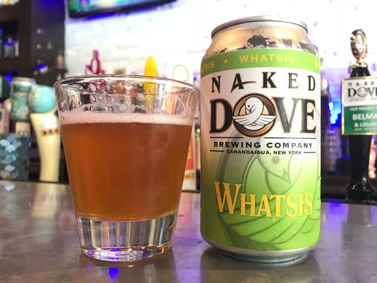 Naked Dove Whatsis pale ale, the first release in a