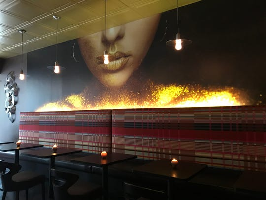 The interior of Bliss Dessert and Wine was designed