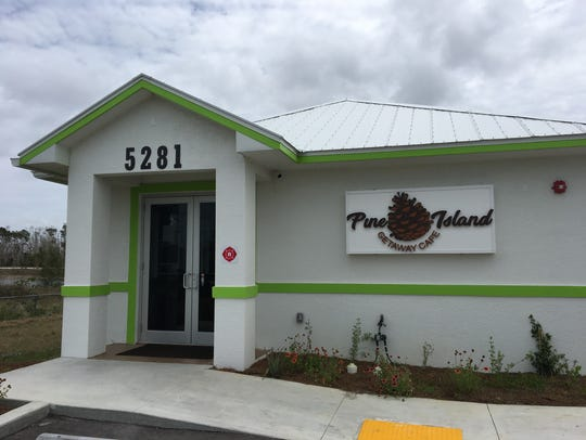 Pine Island Getaway Cafe opened in April in St. James