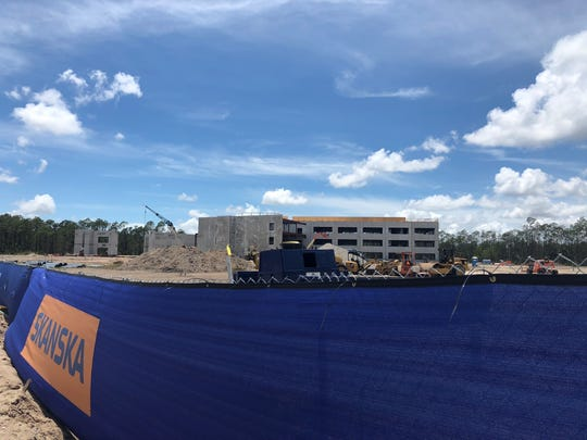 The Gartner campus is under construction on Paul J. Doherty Parkway, between Gateway and Southwest Florida International Airport. Picture taken Sunday, May 6, 2018.
