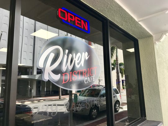 River District Cafe has opened in the former Gwendolyn's space in downtown Fort Myers.