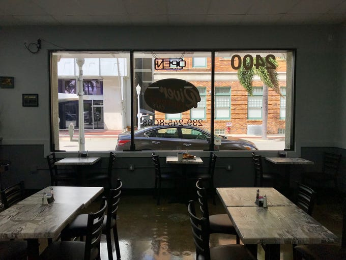 River District Cafe has seven employees and 80 seats.
