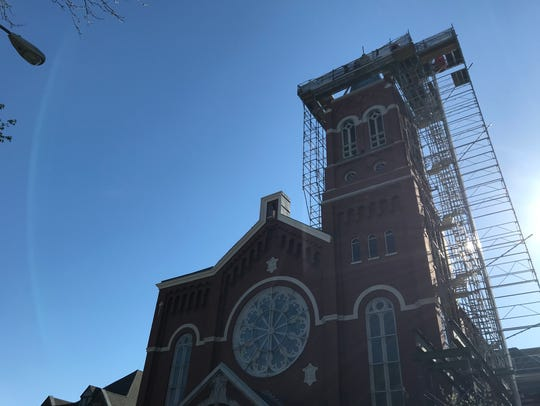 CSTM Corp. will be doing work on St. Mary's steeple