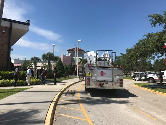 Four classrooms near the fire were closed Monday to