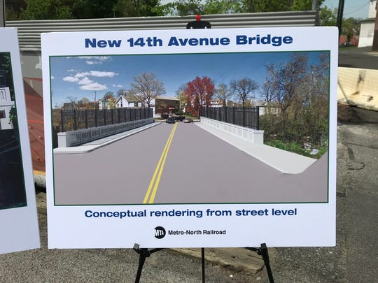 An artist rendering of the replacement 14th Avenue Bridge in Mount Vernon.