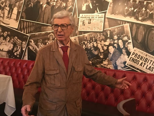 The Amazing Kreskin explores the speakeasy at Rails