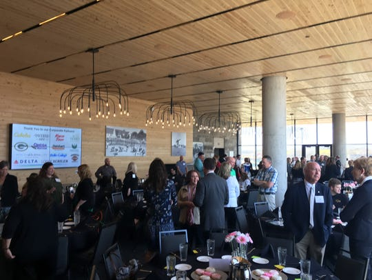 Community leaders and tourism business partners gathered
