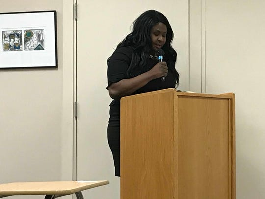 Oylin Owalabi runs for a seat on the Millburn Board of Education in May 2018, vacated by board member Michael King.