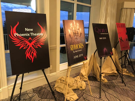 New Phoenix Theatre formally unveiled its 2018-2019 season last month at an invitation-only event.