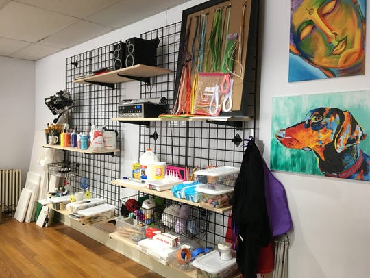 Beyond Conventional Studio on Baltimore Street will have walk-in hours, and customers will have their choice off the art menu.