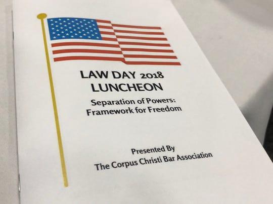 The Corpus Christi Bar Association hosted their Law
