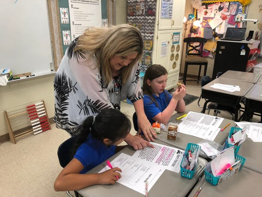 Crystie Austin teaches second grade at Denmark Elementary.