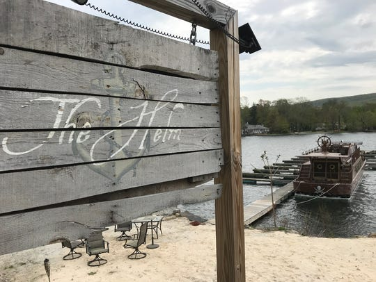 The Helm restaurant in Greenwood Lake, N.Y. recently