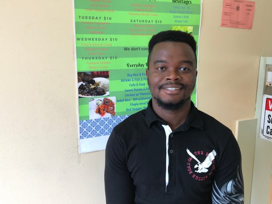 Papy Kamara opens new West African Restaurant at 777