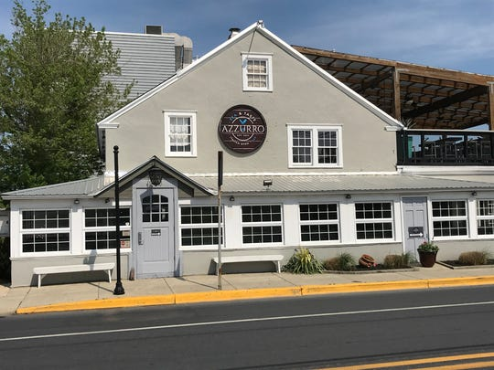 Azzurro takes over the former Papa Grande's in Rehoboth Beach. Some may remember the site as housing the legendary Chez La Mar.