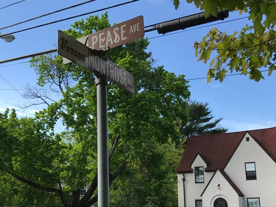 Verona neighbors seek a westbound Pease Avenue stop sign at the intersection of Montrose Avenue.