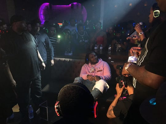 "Detroit rapper Tee Grizzley at his ""Activated"" listening"
