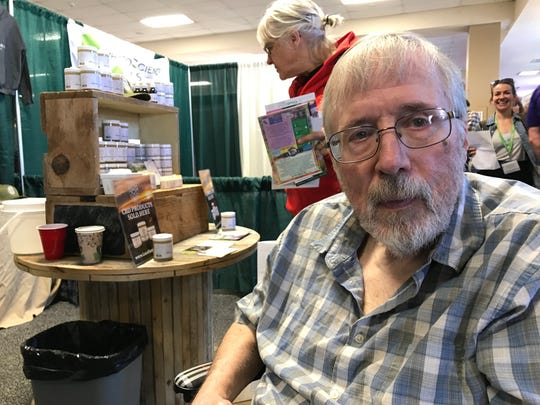 Richard Porter of Wilmington Vermont said that CBD oil eased some of the symptoms of Parkinson's Disease on Sat., May 12, 2018.